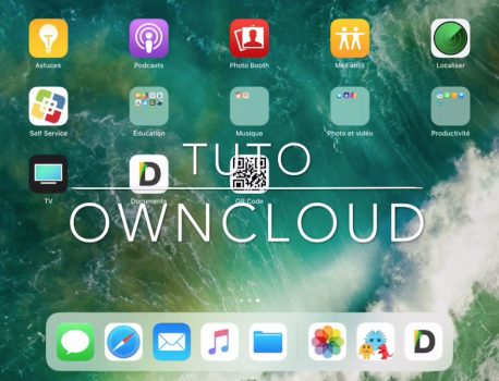 "Configurer ownCloud dans ""Documents"""
